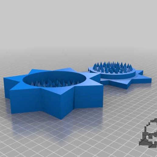 Télécharger fichier STL gratuit broyeur à étoiles • Design à imprimer en 3D, syzguru11