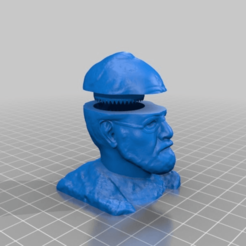 ebe09f604e0a50f235f718ec1f5fa4c8.png Télécharger fichier STL gratuit Sigmund Freud - le Broyeur psychique (vissez la tête, broyez les herbes) • Objet imprimable en 3D, syzguru11