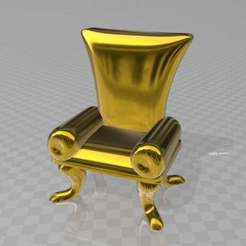 Download free 3D printing files chair 4  (boneless chicken), syzguru11