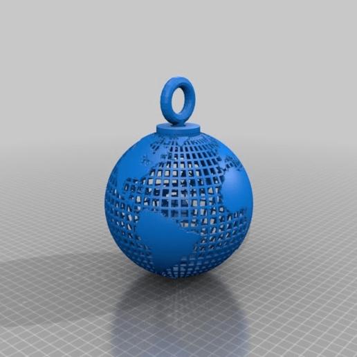 Download free 3D printer templates earth 4 key, syzguru11
