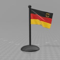 Descargar STL gratis bandera de alemania (color imprimible... archivo incluido), syzguru11