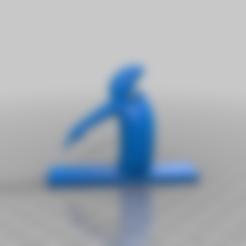 Télécharger fichier STL gratuit la linea pointant vers le bas 3d • Modèle pour imprimante 3D, syzguru11