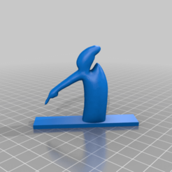 Télécharger fichier imprimante 3D gratuit la linea pointant vers le bas 3d, syzguru11