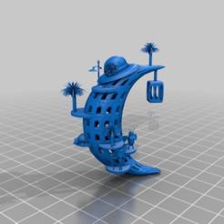 Impresiones 3D gratis luna nueva, syzguru11