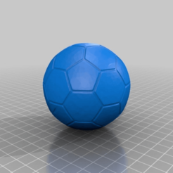 Download free STL file football soccer ball, syzguru11