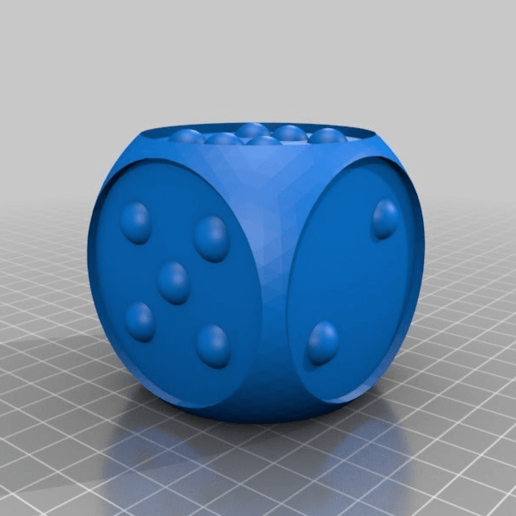 Download free STL file blindmans DICE • 3D printer model, syzguru11