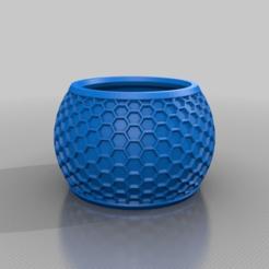 Descargar modelo 3D gratis olla hexa, syzguru11