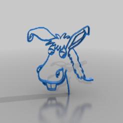 Descargar archivos STL gratis burro, syzguru11