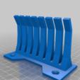 Imprimir en 3D gratis organizador de cable 4 de pared - sin soportes needet, syzguru11
