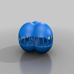 Télécharger modèle 3D gratuit 3x balle partiellement ouverte, syzguru11