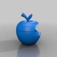 Download free 3D printing designs apple grinder bitten, syzguru11