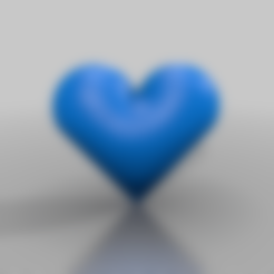 Download free STL file simple heart • Template to 3D print, syzguru11
