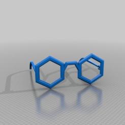 Descargar modelo 3D gratis gafas hexa, syzguru11