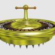 roulette2.png Download free STL file roulette grinder - spin the wheel - rien ne va plus - grind the herbs • 3D printable model, syzguru11