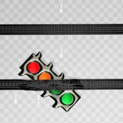 coronaampel.jpg Télécharger fichier 3MF gratuit ampoule corona - stop à l'inégalité des couleurs ! • Objet pour imprimante 3D, syzguru11