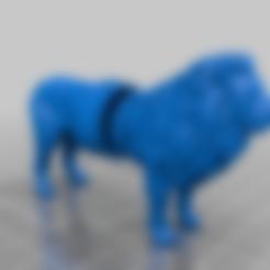 Download free 3D printer designs lion grinder, syzguru11