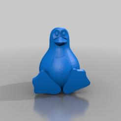 Imprimir en 3D gratis pinguin, syzguru11