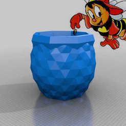 Descargar modelos 3D gratis tarro de miel, syzguru11