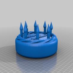 Download free 3D model Birthday cake ...the future of pattiserie, syzguru11