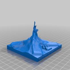 f73ce7d985c040b87b6236458d03a97c.png Download free STL file Matterhorn Raiffeisen Baidu Statue of Liberty Xover • 3D printable model, syzguru11