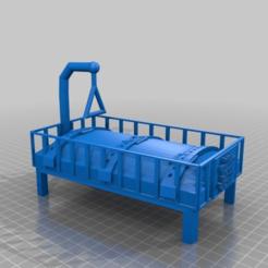 1d6fb28e31a108a95789b7cea0cde084.png Download free STL file bed hospital  ..und sauerkrautsaft das is gut!!! • 3D printing model, syzguru11