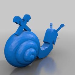 Download free 3D printer designs raiffeisen schnecke snail, syzguru11