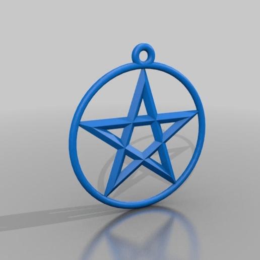 Download Free 3D Printer Designs Pentagram ・ Cults