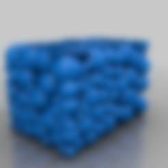 openspherebox.STL Télécharger fichier STL gratuit boîte de sphères de conteneur d'eau • Design imprimable en 3D, syzguru11