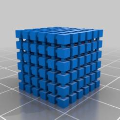 Descargar Modelos 3D para imprimir gratis cubo cubo 6x6x6, syzguru11