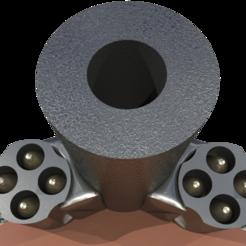 Download free 3D printing templates gun / movie prop, syzguru11