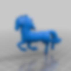 Télécharger fichier STL gratuit cheval • Modèle à imprimer en 3D, syzguru11