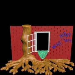 Download free STL file Fenster - ansichten und einsichten mit wurzelwerk • 3D printer design, syzguru11