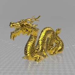dragonbest.jpg Download free STL file Chinese Dragon Miniature V2.0 • Template to 3D print, syzguru11