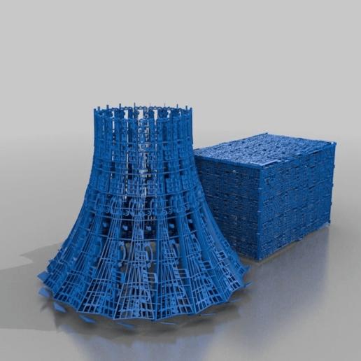 Télécharger fichier STL gratuit Bloc de la tour de refroidissement & n° de symphonie 5 • Objet pour impression 3D, syzguru11
