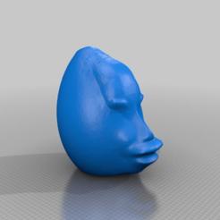 Impresiones 3D gratis la escultura de la cabeza, syzguru11