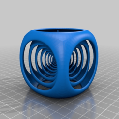 Download free 3D print files cube in cube fixed position inside, syzguru11