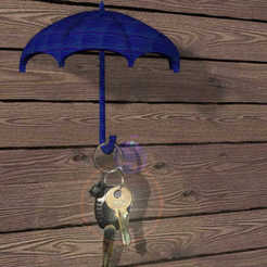 Descargar STL gratis paraguas para las llaves, syzguru11
