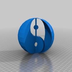 Descargar modelos 3D gratis yinyang 3d, syzguru11