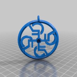 Download free 3D model gruesse an die fuesse - pendant wheelchair ./  walking on glass, syzguru11