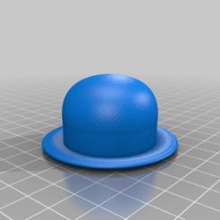 Descargar Modelos 3D para imprimir gratis sombrero / melón, syzguru11
