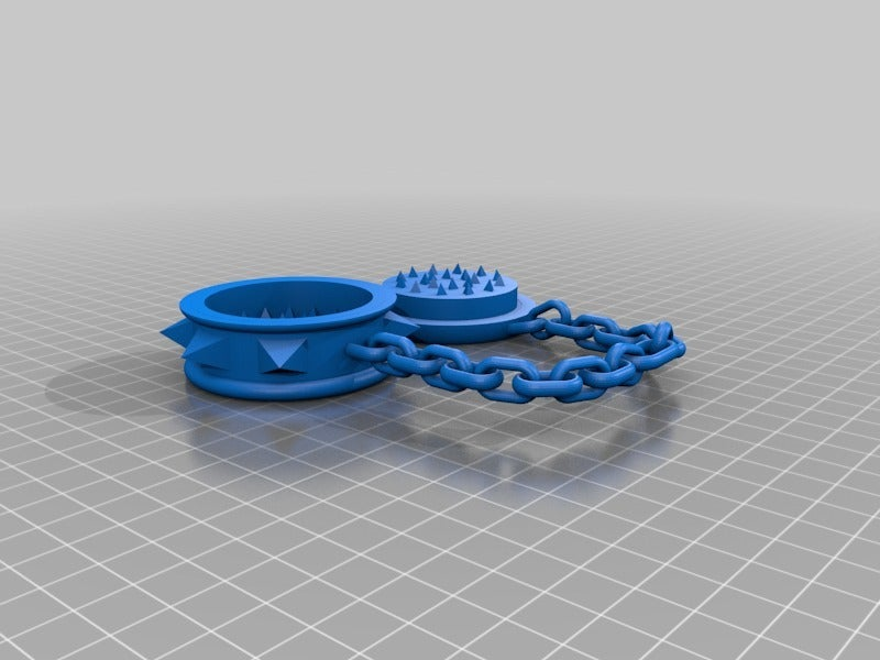 6ee5cc486f0e5f2929393f225f658a1b.png Download free STL file grinder in chains      spices herbs weed hemp Gras dope • 3D print object, syzguru11