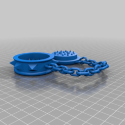Download free 3D printer templates grinder in chains      spices herbs weed hemp Gras dope, syzguru11