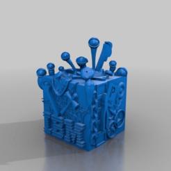 Télécharger modèle 3D gratuit son borg cube 2, syzguru11