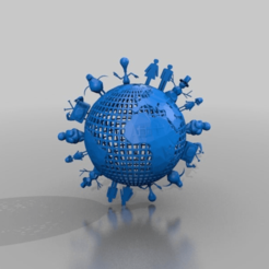 f68cb45365193dda9939343eca986eba.png Download free STL file one world • 3D printer design, syzguru11