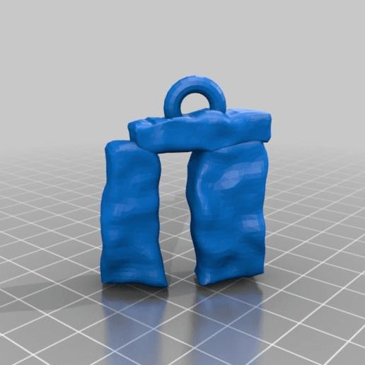 Download free 3D printing models stonehenge, syzguru11