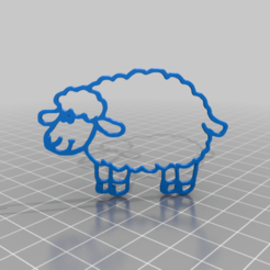 sheepv.png Download free STL file sheep • 3D printable template, syzguru11