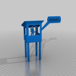 Download free 3D printing files porkys wachturm - new !1?!?- wake up , erwache, syzguru11