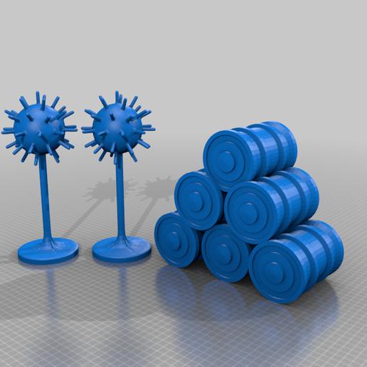submarine-huntingf-set.png Download free STL file submarine hunting set • 3D printing design, syzguru11