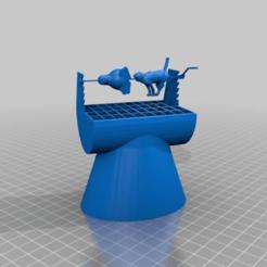 Télécharger fichier impression 3D gratuit chat et pingouin sur le grill, syzguru11