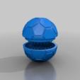 Download free 3D model weed hemp spices football grinder, syzguru11